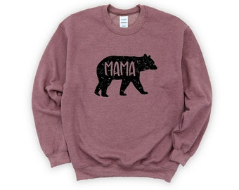Hoodie Mothers Day Gift Her Sweet Cute Mama Bear
