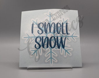 I Smell Snow Friend Gift Gilmore Girls Inspired Fandom Candle Stars Hollow Gift Lorelai
