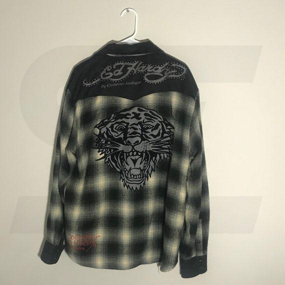Authentic Edhardy Zip Up | Vintage Warm Jacket | S