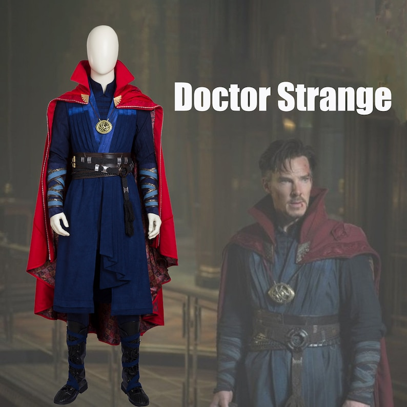 Doctor Strange of Stephen Strange Cosplay Costume