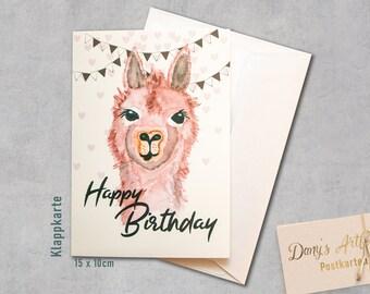 Geburtstagskarte tiere basteln