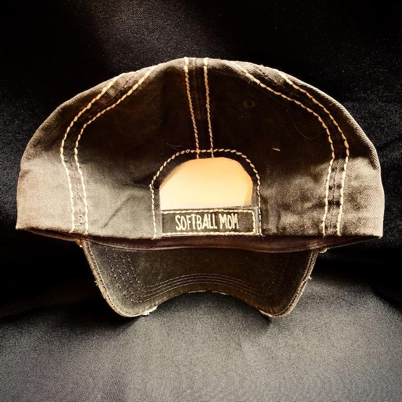 Softball Mom Rhinestone Hat