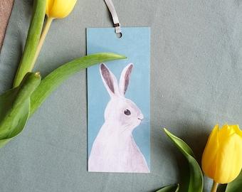 Bookmark Bunny, Easter Bunny, Snow Bunny, Bookmark, Book Accessories