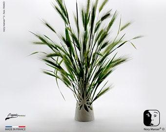 ikebana vase seaweed Deco office Decoration home office design For flower dry bouquet Sculpture series limée Print 3D resin organic resin