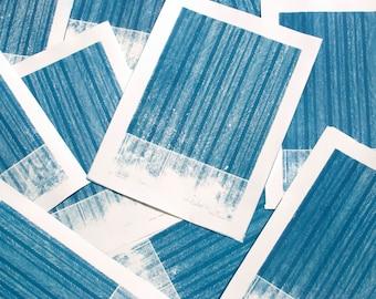 Landscape - original cyanotype print
