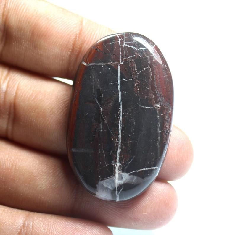 Natural Chocolate Jasper Cabochon Oval Shape Cabochon Gemstone