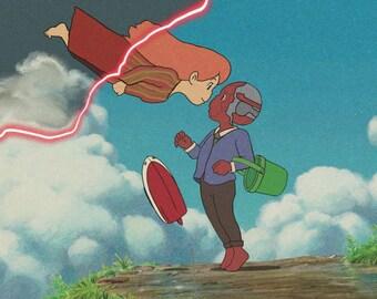 Wandavision Ghibli Print