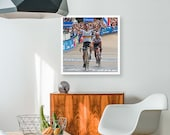 Peter Sagan wins Paris Roubaix photo art print