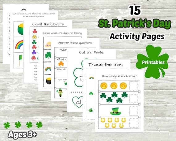St. Patrick's Day Activities  Preschool Worksheets