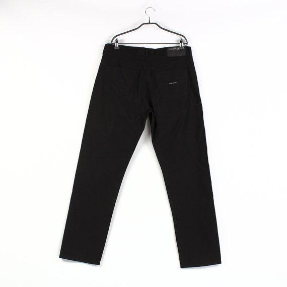 Vintage men's STONE ISLAND Denim black pants Size