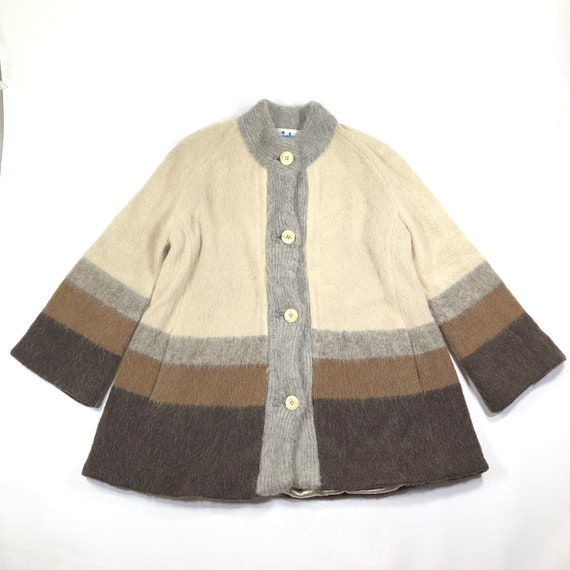Vintage 70s Icelandic Fashions Womens M Arctic Woo