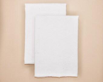 Hankies | Organic | Zero Waste | Reusable Tissue | Handkerchief | Self-Care Gift | Sustainable | Zero Waste | USA Grown + Sewn
