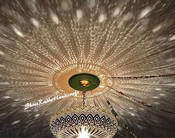 Moroccan Pendant Light, Moroccan lamp , Hanging Lamp , Lampshades Lighting New Home Decor Lighting