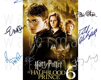 Order Of The Phoenix Cast Harry Potter Movie Signed Autographed A4 Print Photo