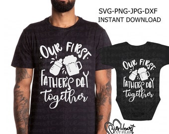 Free Happy father's day to the best dad in the world. First Fathers Day Svg Etsy SVG, PNG, EPS, DXF File