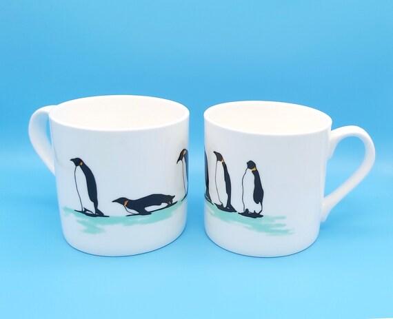 Penguin Parade Mug