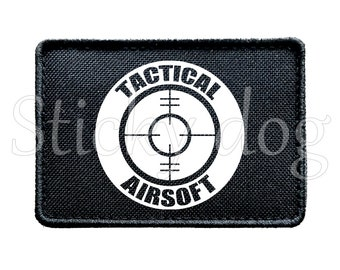 Tactical Airsoft Scope target patch with Velcro