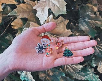 Christmas Enamel Pins Bundle