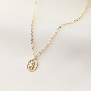 PS2005PER engraved necklace gold necklace travelling gift traveller/'s prayer 9ct rolled gold personalised St Christopher