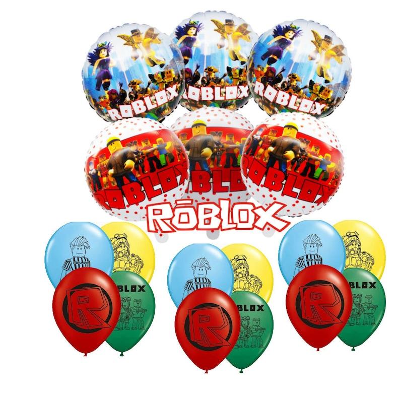 "18/"" Round Roblox Helium Balloon NEW"