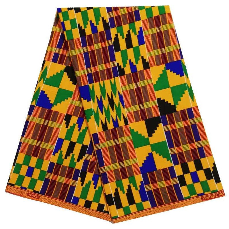 Free Shipping African fabric Kente wax fabric for African Print ...