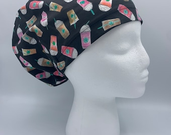 Coffee Theme Scrub Hat