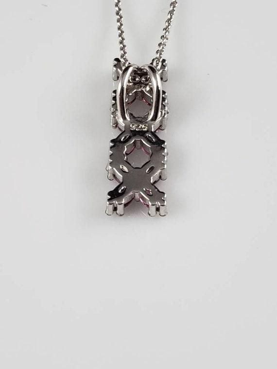 Ruby Latticework Sterling Silver Ring - image 8