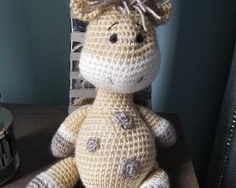 What a cute stripy giraffe! 😍😘 Made by... - Amigurumi Today ... | 270x340
