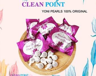 LOT Best Natural Herbal Womb Yoni Vaginal Cleansing Healing Detox Pearls Tampons