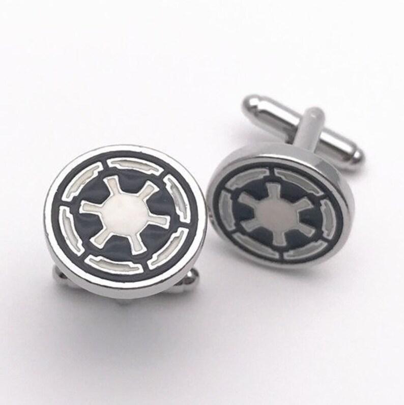 The Empire Star Wars Cufflink Pair