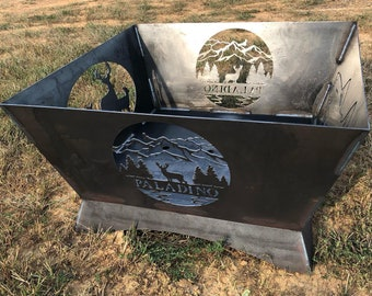 """FREE SHIPPING - 24"""" Custom Fire pit"""