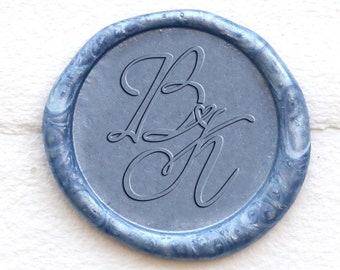 Bullfight Wax Sealing Stamp  Wax Sealing Stamp  Wedding Wax Stamp  Invitation Sealing Wax Stamp  Initials Wax Seal Kit