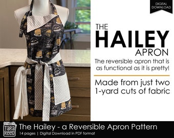 The Hailey Reversible Apron Pattern