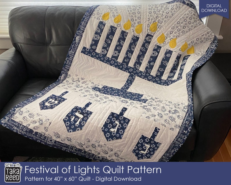 Festival of Lights Quilt Pattern by Tara Reed image 0