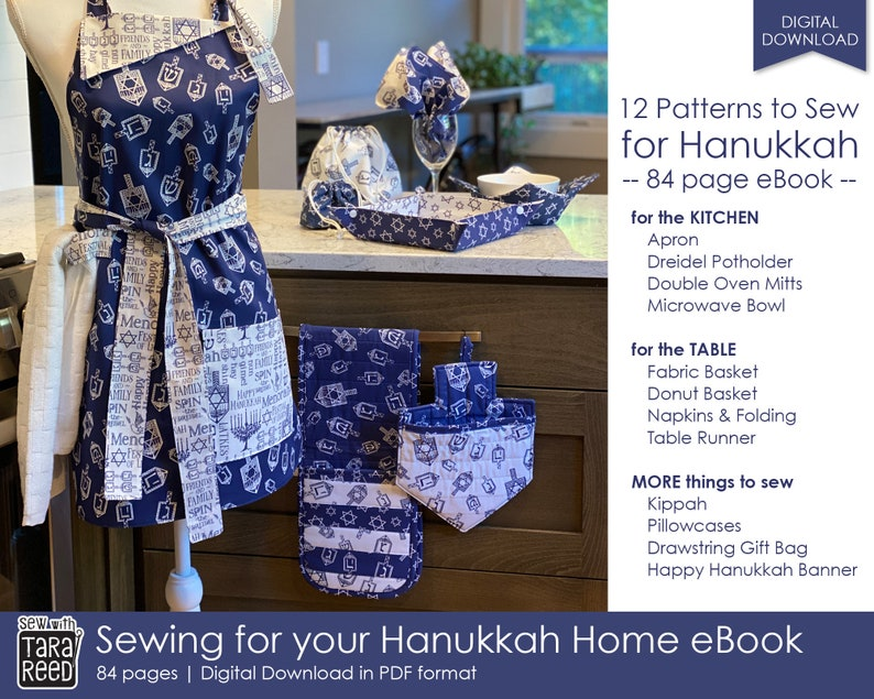 Sewing for your Hanukkah Home  12 projects to make for the image 1