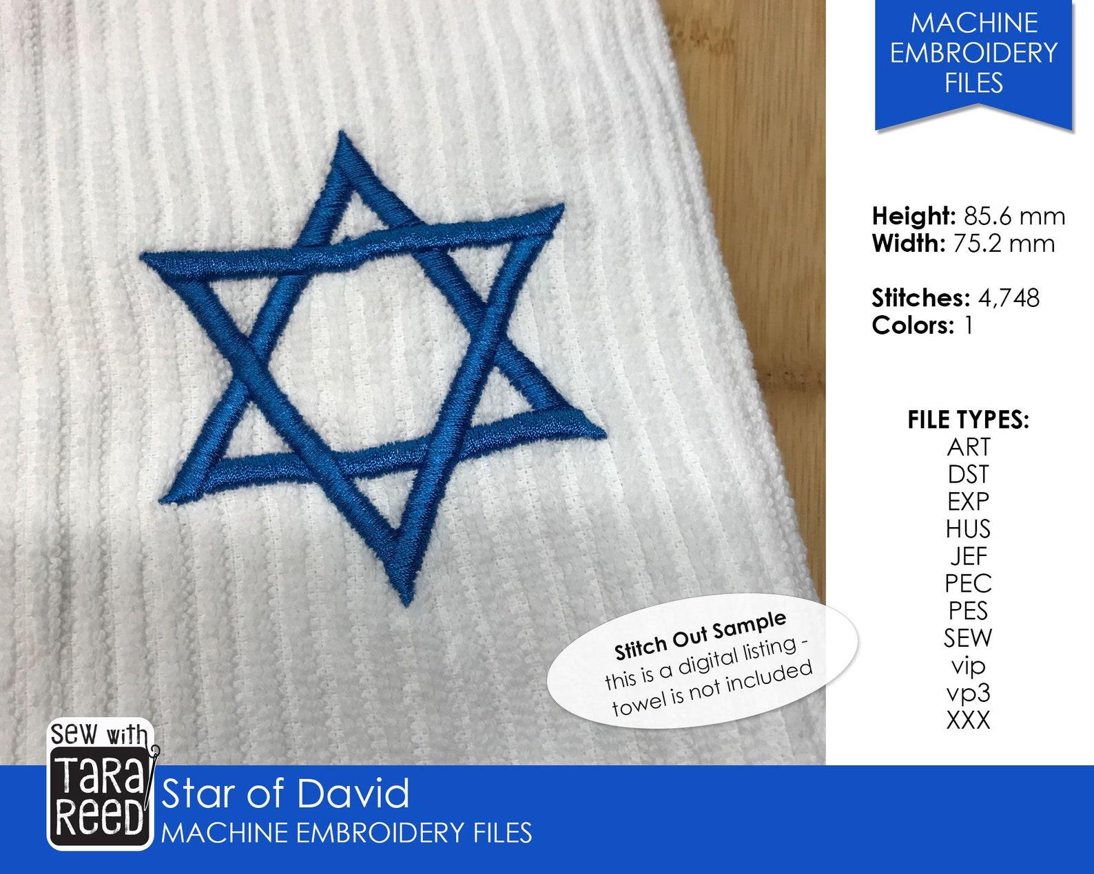 Hanukkah Quilt Pattern - Etsy Shop Link