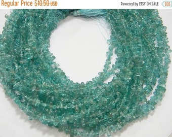 ON SALE 80/% Discount AAA Quality Natural Aquamarine Smooth Tyre shape Pack of 8 strand Size 4-8 Mm 14 Inch Strand Approx