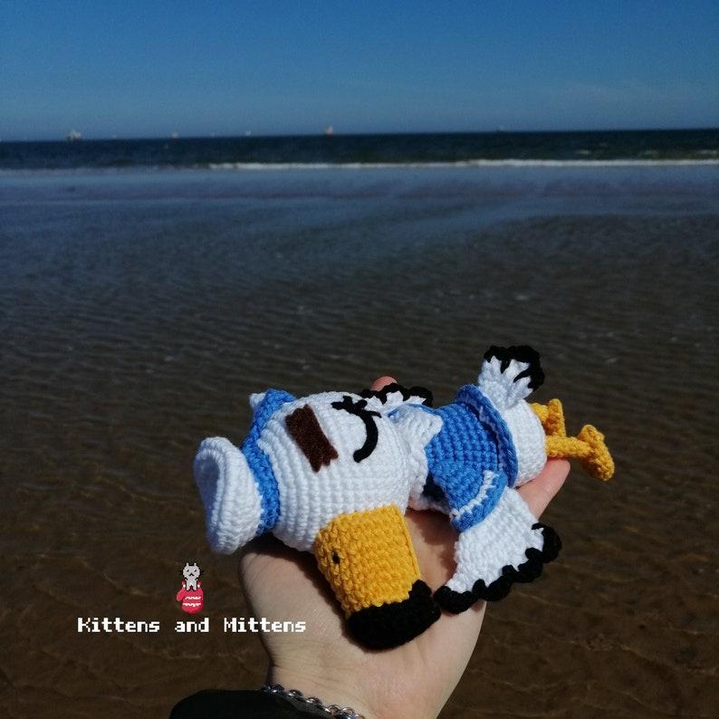 Gulliver Sailor  Animal Crossing Crochet Pattern PDF in ENG image 0