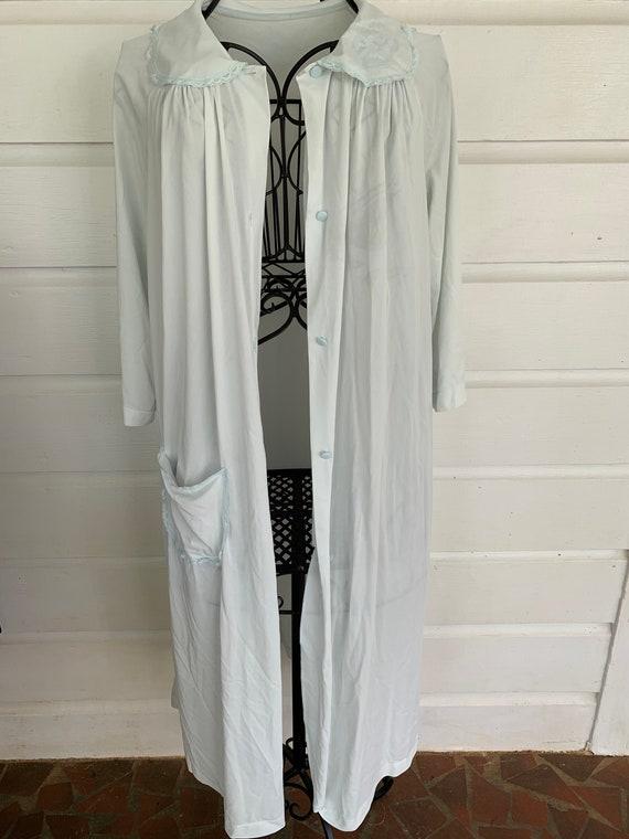 Vintage 1960's Shadowline Silk Robe | House Coat |
