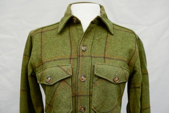 Vintage Woolrich Button Up Shirt Jacket   100% Woo
