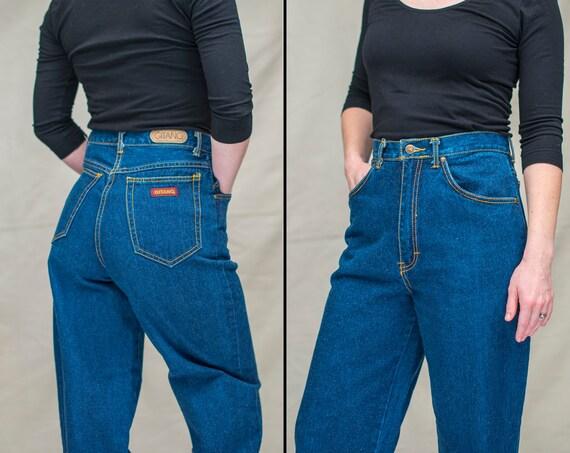 "Vintage GITANO High Waist Mom Jeans | 26"" Waist |"