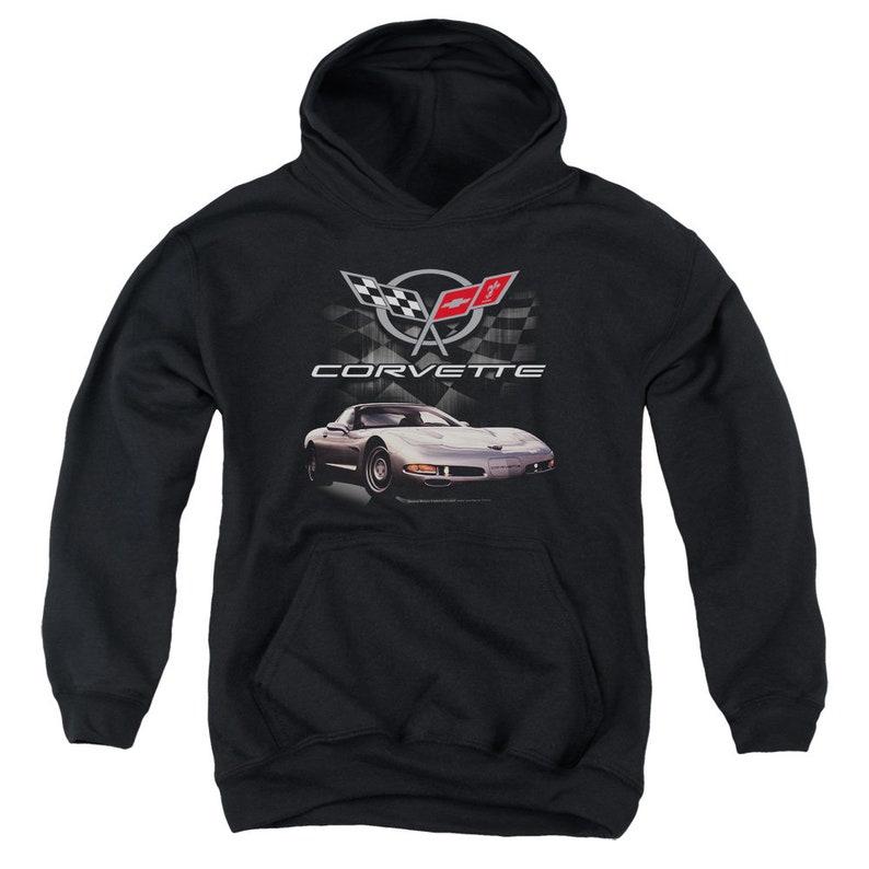 Chevrolet Corvette C5 Kids Black Shirts