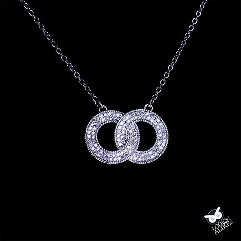 Crystal Circles Necklace