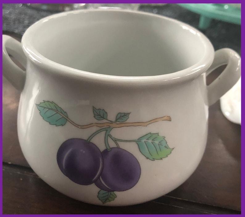 Ensemble de 4 bols à soupe en céramique vintage