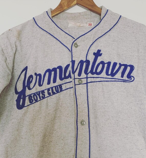 "Vintage ""Jermantown Boys Club"" Baseball Jersey"