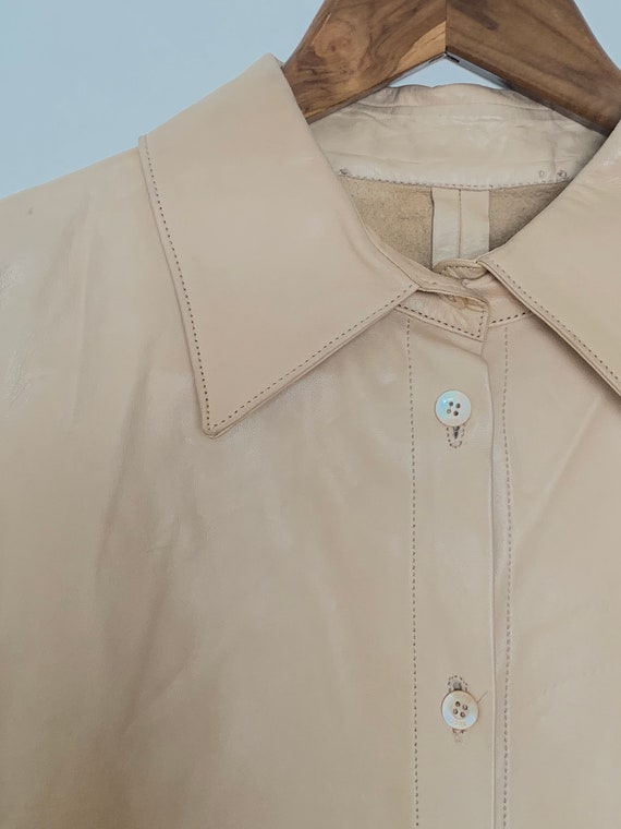 Gucci Leather Womens Shirt
