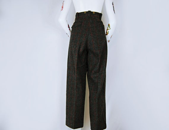 Vintage L.L. Bean Heavy Wool Trousers - image 5