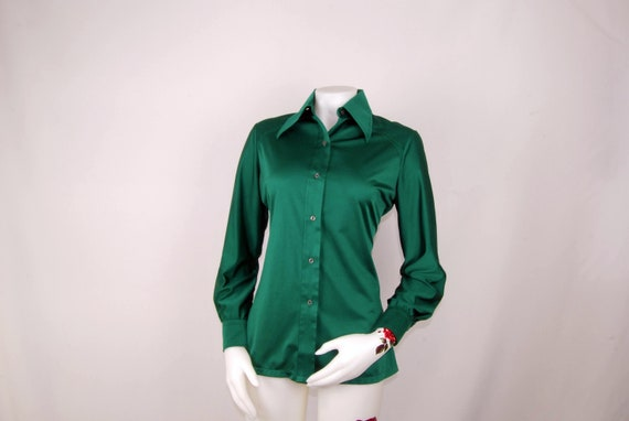 50's Adelaar Silk Shirt/Blouse