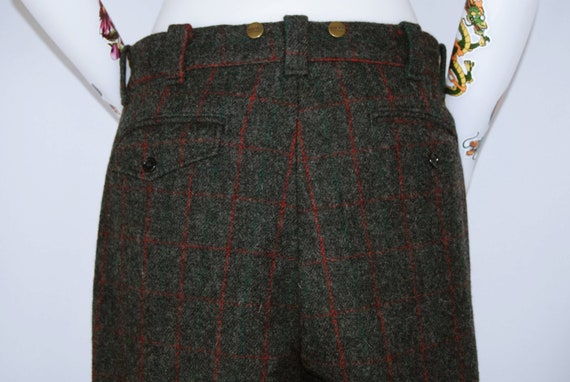 Vintage L.L. Bean Heavy Wool Trousers - image 4