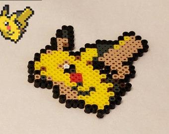 Pikachu Perler Etsy